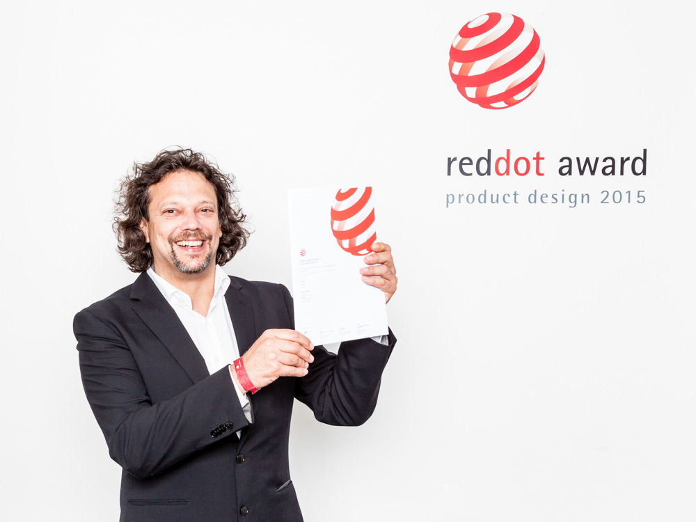 © Red Dot Award for Product Design - 2015