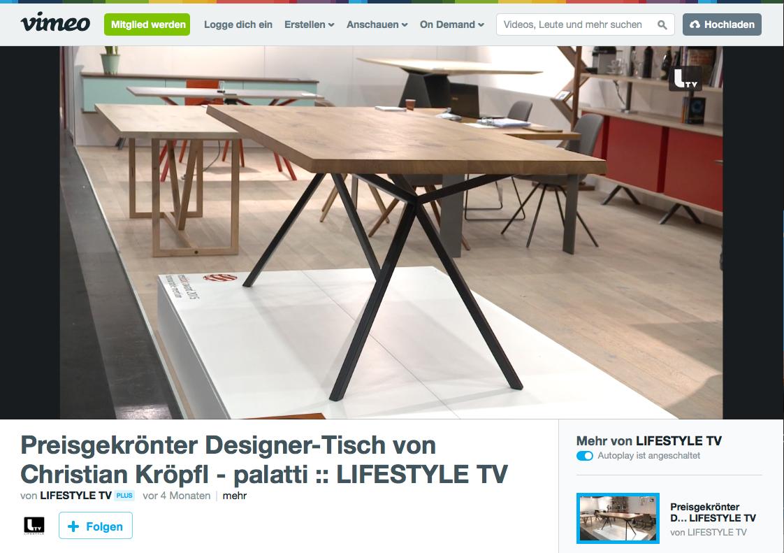 Christian Kroepfl Interview - Wohnen&Interieur Wien 2016